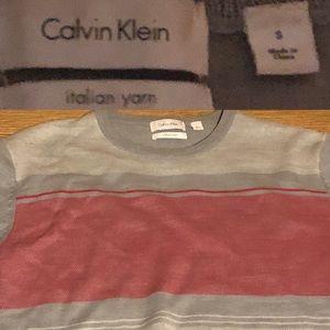 Men's Italian yarn Calvin Klein sweater
